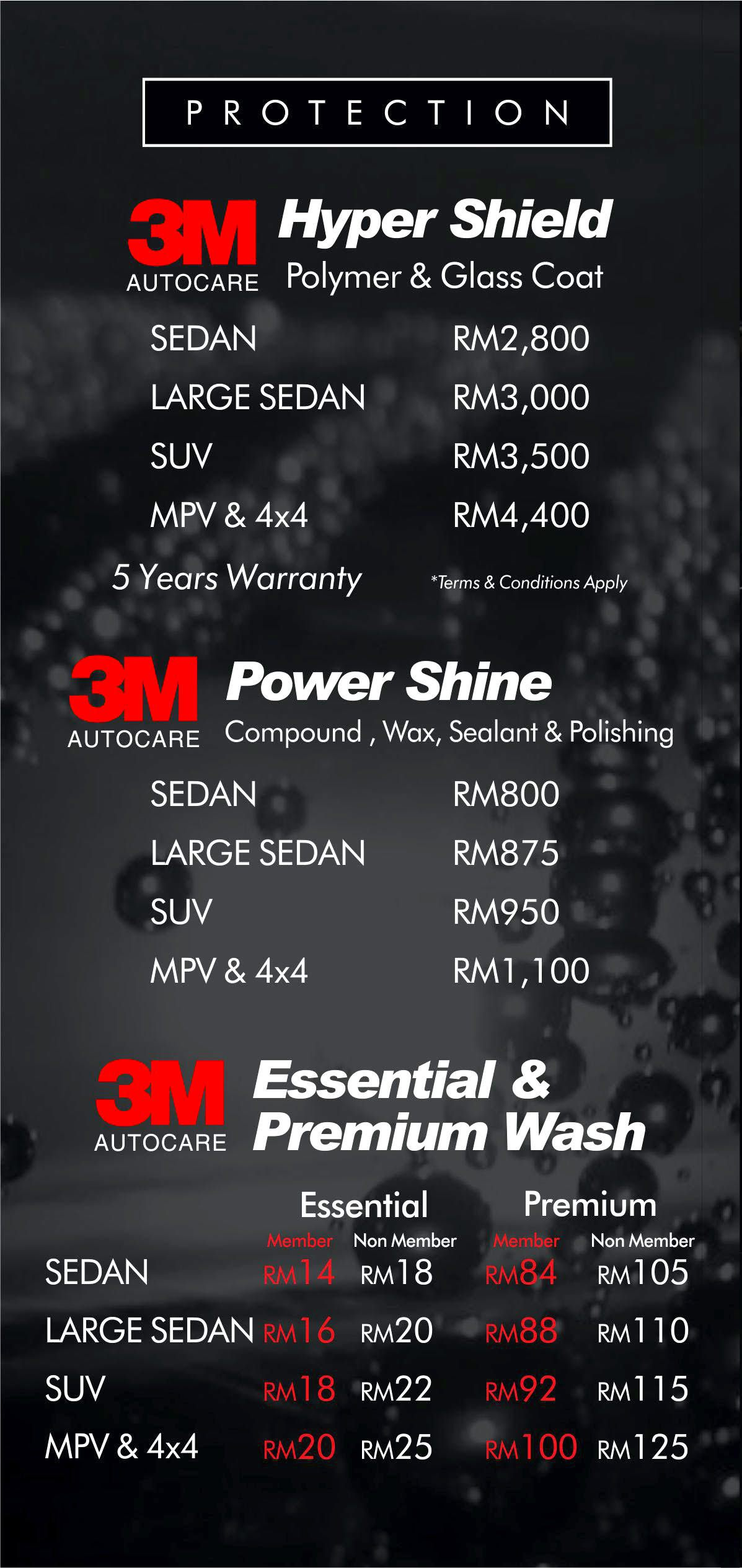 Car Wash Polish Coating Tinting In Alor Setar And