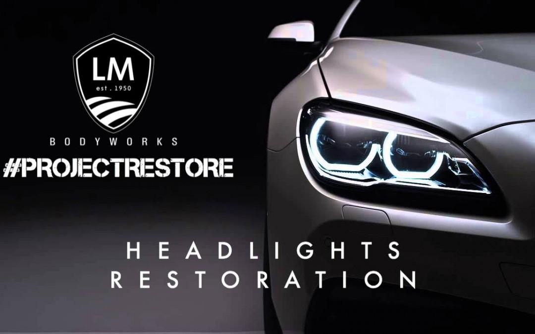 #Projectrestore  Part 2: Headlights Restoration