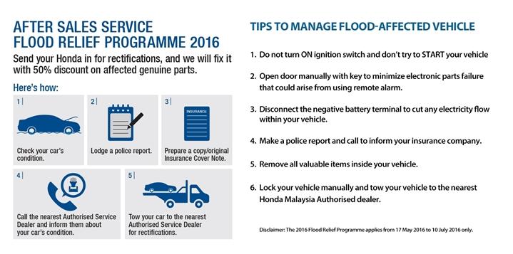 Honda Flood Relief Programme 2016
