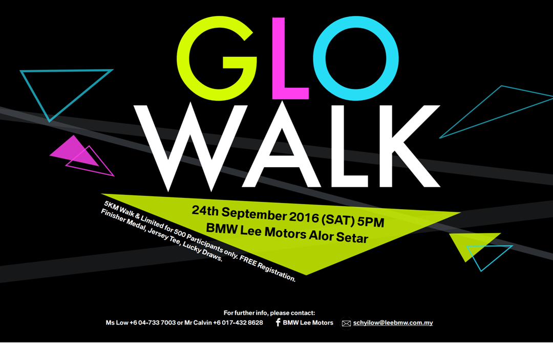 BMW Lee Motors GLO WALK 2016