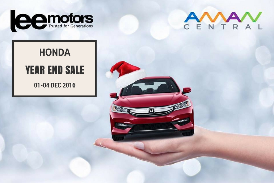 Honda Year End Sale at Aman Central