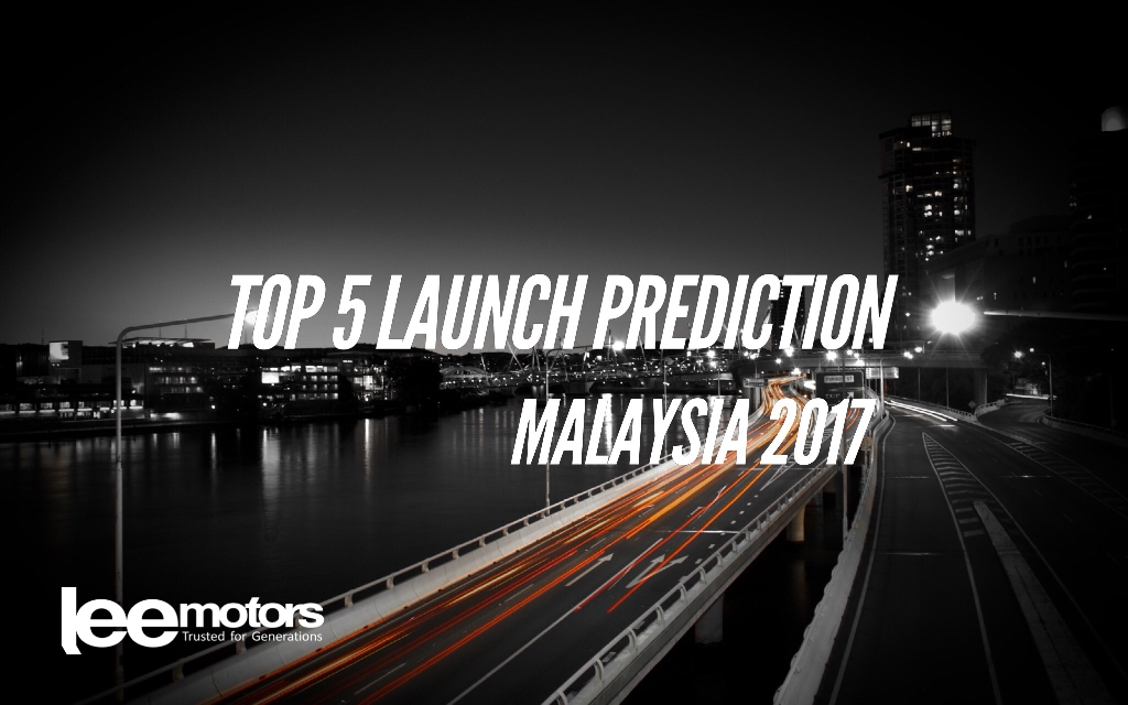 2017 Top 5 Vehicle Launch Prediction