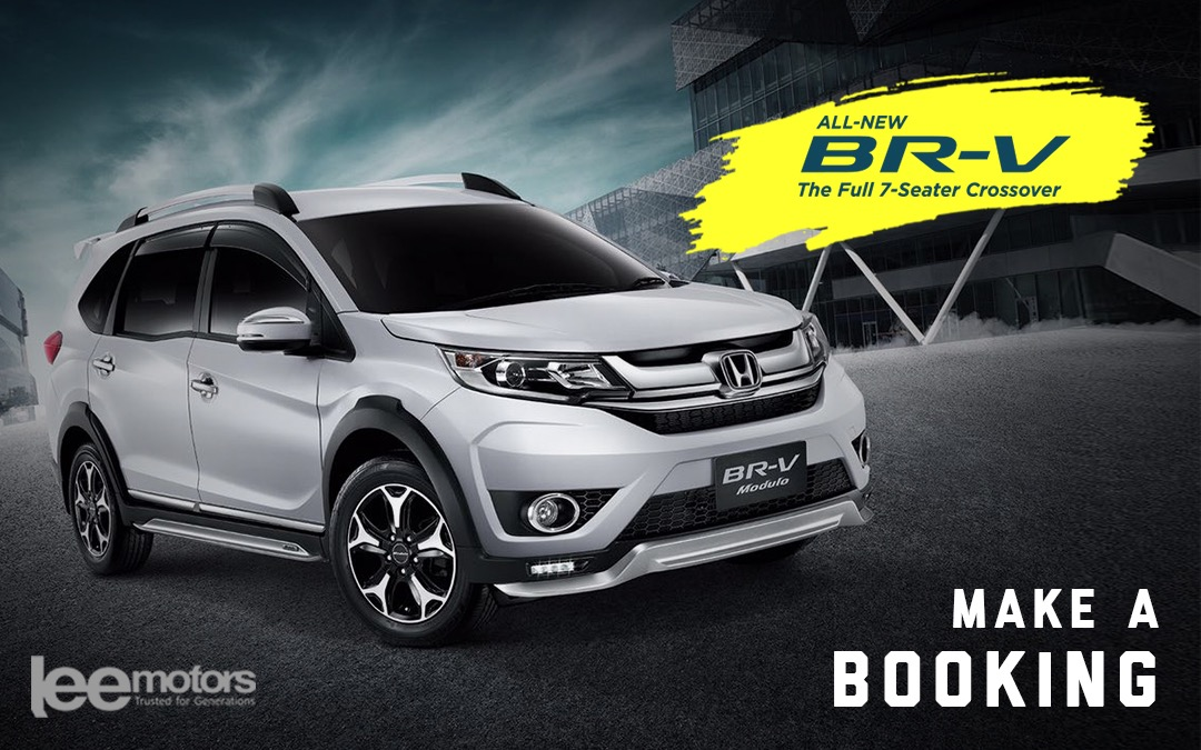 Open for Booking: Honda BR-V