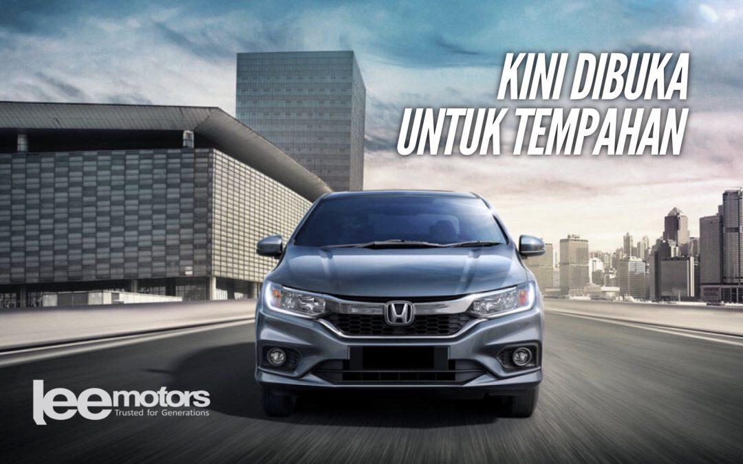 Honda City 2017 kini dibuka untuk tempahan