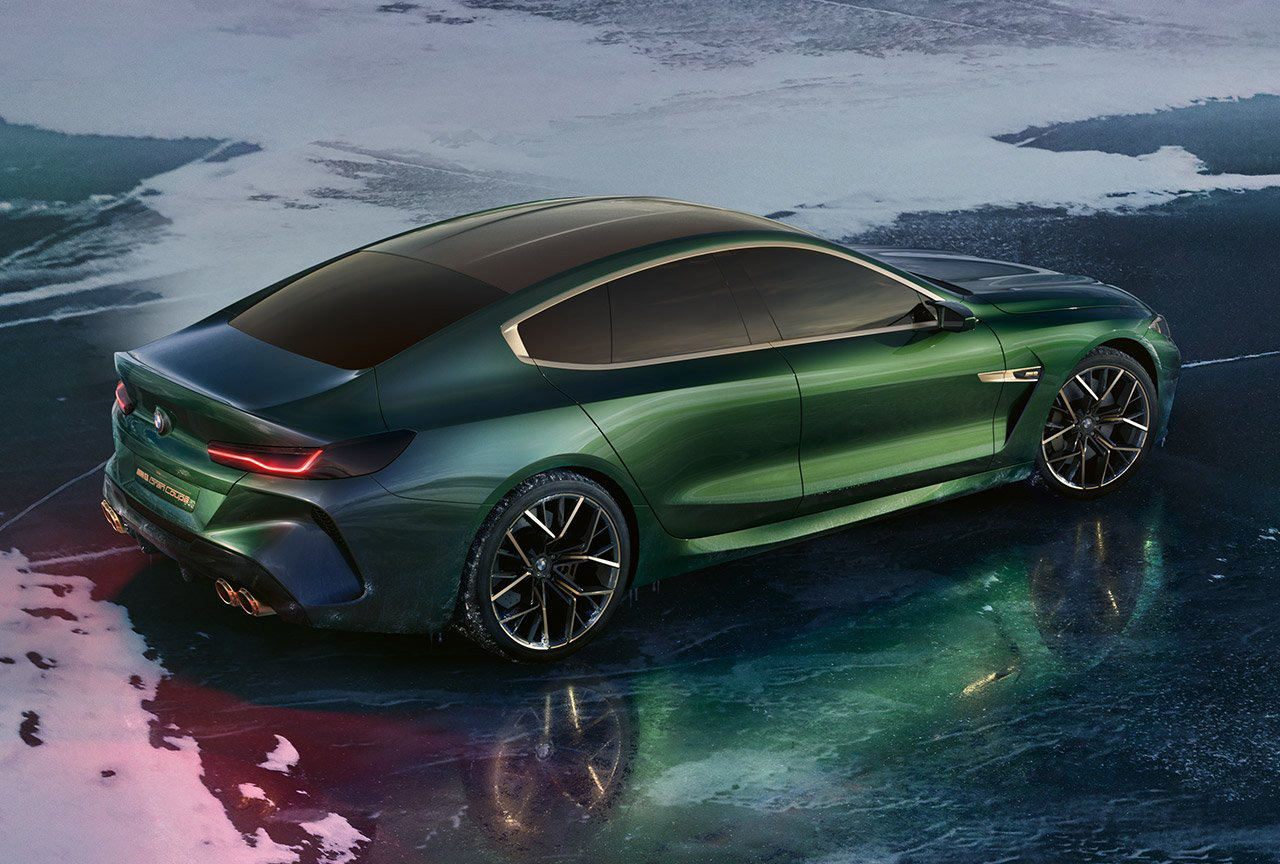 The New BMW Concept M8 Gran Coupe - Icon of gran ...