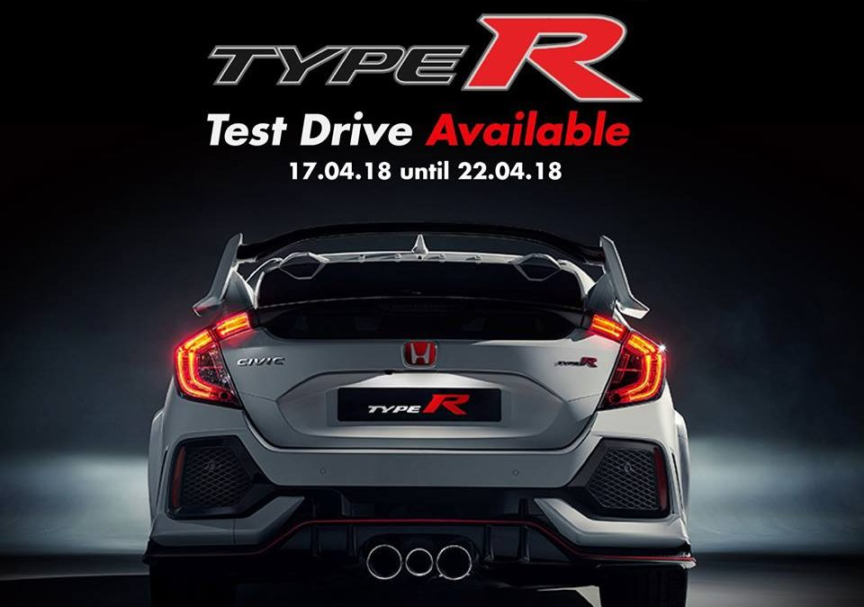 Experience the all-new Civic Type R