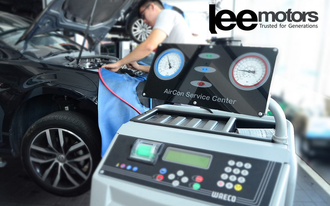 A/C Service is a breeze with Authorized Volkswagen Lee Motors.