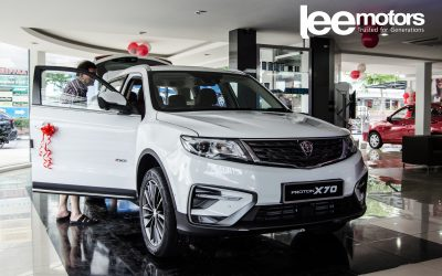 PROTON X70 | Starting from RM99,800