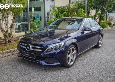 2016 Mercedes Benz C200 2.0 (A)