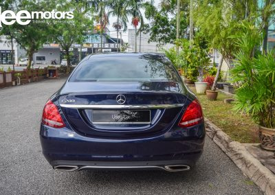 2016 Mercedes Benz C200 AVANTGARDE (CKD) 2.0 (A)
